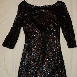 Jessica Simpson Sequin Dress Scooped Back 2